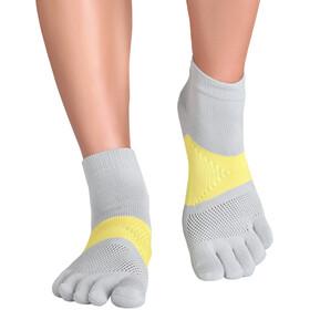 Knitido MTS Tornado Running Socks, gris/jaune